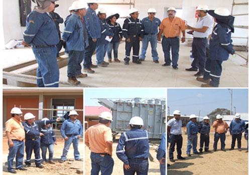 INSPECCION EN OBRA DE CONSTRUCCIÓN EN EL BENI.