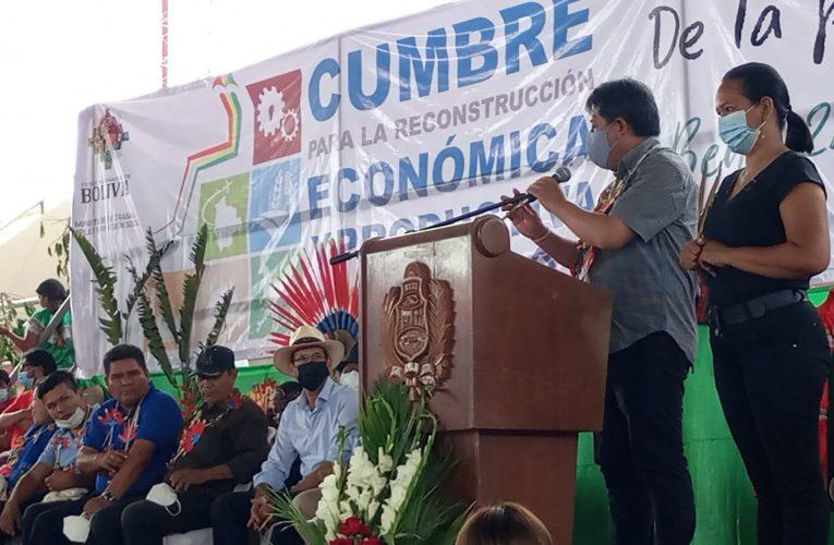 TRINIDAD: CUMBRE PROPONE INDUSTRIALIZACIÓN DE LA PRODUCCIÓN AGROPECUARIA Y LA REFORESTACIÓN DE BOSQUES DE MADERA MARA (TRINIDAD, 25 DE SEPTIEMBRE, VICEMINISTERIO DE COMUNICACIÓN)